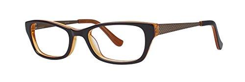 KENSIE Eyeglasses PAINTER Brown 47MM