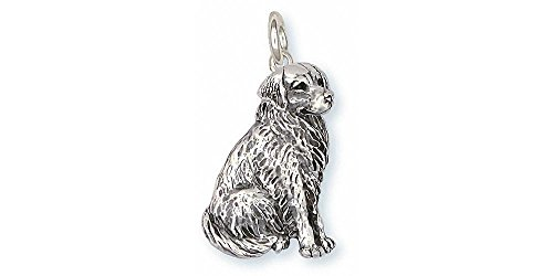 Bernese Mountain Dog Jewelry Sterling Silver Bernese Mountain Dog Charm Handmade Dog Jewelry BM20-C