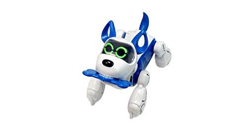 image SilverLit - Robot Chien interactif à Reconnaissance vocale - Dresiraj moje štene - Pupbo Bleu