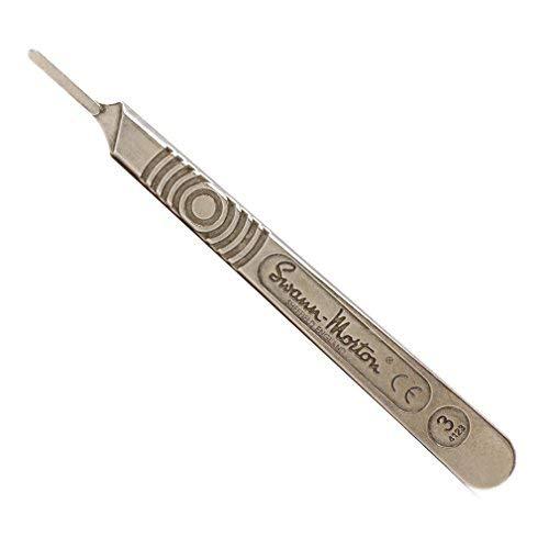 Swann Morton : Scalpel Handle No 3 for blades 10 : 10a : 11 : 12 : 15 : 15a (Original Version) (Original Version)
