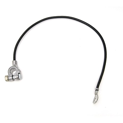 Eckler's Premier Quality Products 40138384 Full Size Chevy Battery Cable Negative Small Block V8 by Premier Quality Products