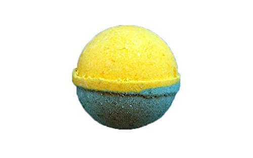 Tangerine Bath Kit - Best Bath Bomb, Tangerine & Grapefruit [4.5oz] X- Large Fizzy- USA Made - Bath Bombs Kit - Lush Scented Fizzy - Great Gift Idea - Single Bomb
