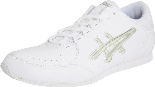 ASICS Womens Cheer LP Cheer Shoe White/Interchange/Silver