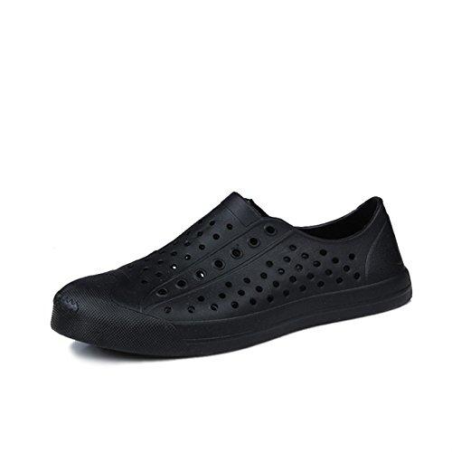 Shoes Men Women Outdoor Beach Aqua Black Shoes Breathable aAaqxHS