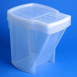 1 x Stacking Recycle Bin - Translucent STORE