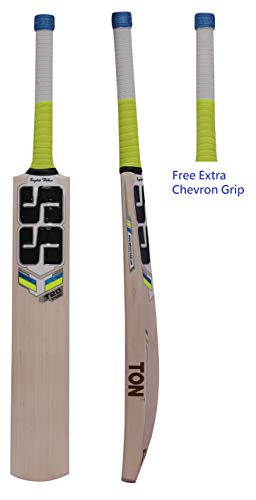 SS T20 Storm 2019 Series English Willow Cricket Bat, Men's Size - SH Grade 2 (Free Extra Grip & Bat Cover Included) ()