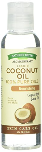 Coconut Oil Base (Nature's Truth Coconut Liquid Base Oil, 4 Ounce)