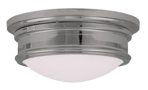 Livex Lighting 7342-05 Astor 2 Light Ceiling Mount, Chrome