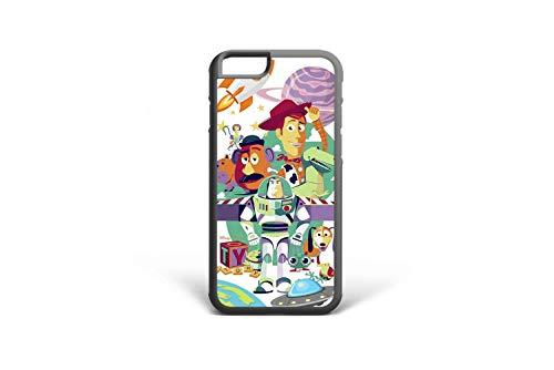 (Koldan Toy Story Phone Case iPhone XS Max Cover Pixar XR X 5S SE Disney iPhone iPhone 8 Plus 7 Plus 8 7 Woody Samsung S7 Edge Buzz Lightyear Note)
