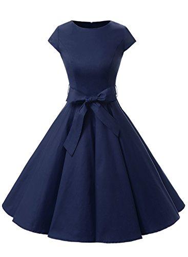 Dressystar Vintage 1950s Dresses Cap sleeve