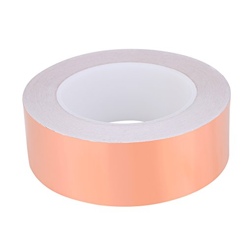 30m Copper Foil Tape, Strong Adhesive Single Sided Conductive Copper Foil Tape for EMI Shielding(Width-4cm) by VGEBY