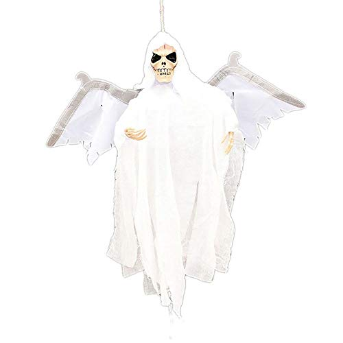 Party Diy Decorations - Halloween Ghost Voice Control Eyes Glowing Wings Moving Bars Haunted House Secret Room Bat Flying - Decorations Party Party Decorations Plastic Halloween Resin -