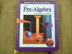 Pre-Algebra: A Transition to Algebra (Teacher's Wraparound Edition)