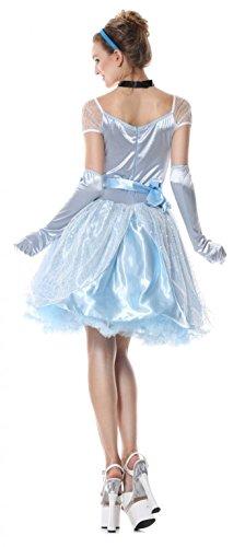 blau blau A Damen GGTBOUTIQUE Kleid Linie 6xpI8nqg