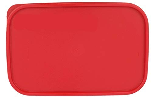 """Tupperware Modular Mates RED 1610 Rectangle Replacement Seal Lid 10.75"""" X 7"""""""