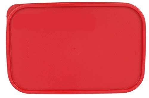 (Tupperware Modular Mates RED 1610 Rectangle Replacement Seal Lid 10.75