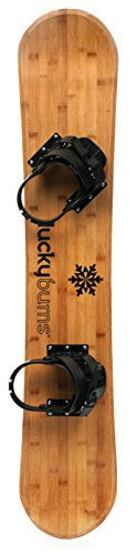lucky-bums-heirloom-collection-kids-wooden-bamboo-snowboard-120-cm