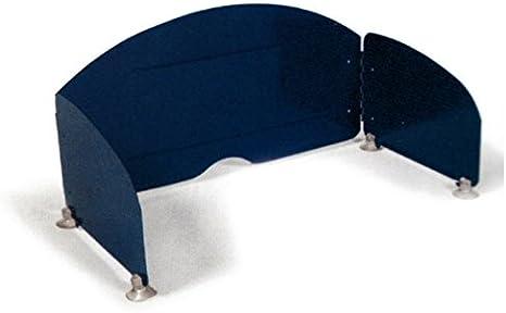 Paraviento para hornillo de mesa, hasta 60 cm de ancho, ideal para camping, equipado con ventosas