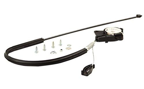 AUTOPA 1Y0898291 Rear Left Window Regulator Repair Kit for Beetle Convertible