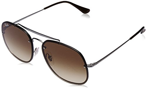 de Ban RB 3583N SHADED Soleil Lunettes GENERAL BROWN Ray RUTHENIUM BLAZE THE unisexe HAdqUxn