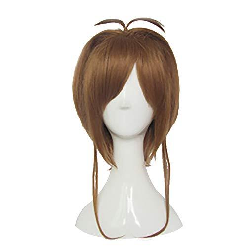 Mtxc Tsubasa: Reservoir Chronicle Cosplay Sakura Kinomoto Short Wig Brown ()