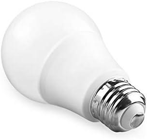 A19 Led Light Bulbs 5000k 100 Watt Equivalent Led Bulb Daylight White 1100lumens Non Dimmable Medium Screw Base E26 Cri80 12 Pack
