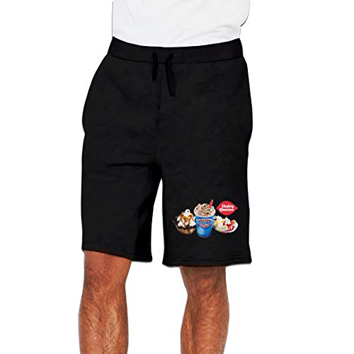 Custom Dairy Queen Blizzard Ice Cream Work Running Shorts for Adult Men's