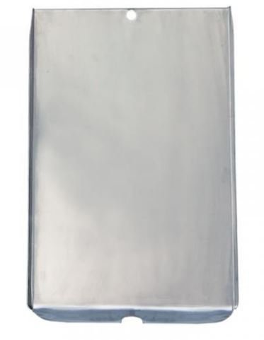 Daniel Boone Single Piece Grease Tray, Stainless Steel