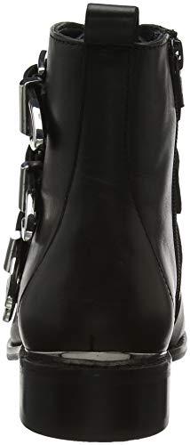 Leather Black Black 00078 Archive Femme Office Bottines qxXwpUz6