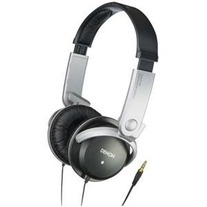 Denon AH-P372K Stereo Headphone - Wired Connectivity - Stereo - Over-the-head - Black