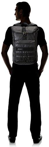 Timbuk2 306-3 Herren & Damen Tasche, Spire, Rucksack, Kuriertasche, Fahrrad Tasche, Business Rucksack, Laptop Tasche, 47.5x31.5x13 New Black (Schwarz/Dunkelgrau)