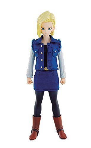 [Dimension of DRAGONBALL Android 18 (with initial award) about 185mm PVC & Polyester & ABS-painted action] (Android 17 And 18 Costumes)