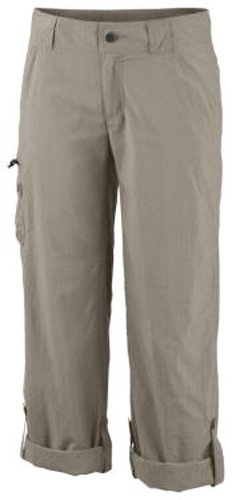 Columbia - Pantalones de senderismo para mujer fósil
