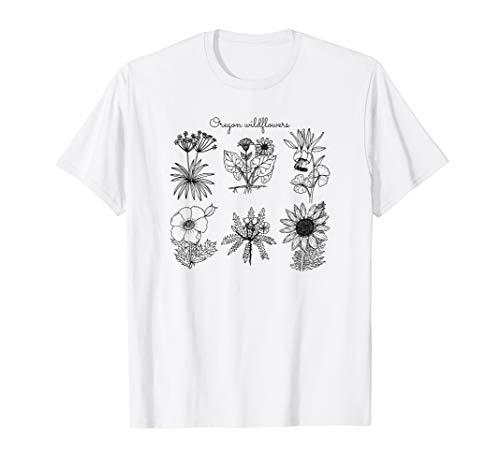 Oregon Wildflower Boho Floral Vintage Aesthetic Festival -