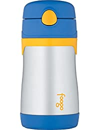 Foogo by Thermos Vacuum Insulated Straw Bottle - Blue -...
