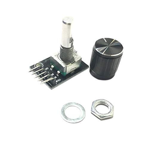 uzinby Arduino レンガセンサーが 開発ボードKY-040 DIYの電子スイッチ用 360度回転式 エンコーダモジュールの交換  「100%新品」