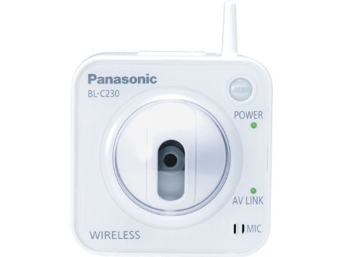 Panasonic BL-C230A Wireless Internet Security Camera