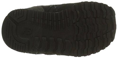 New Balance 420 Hook and Loop, Zapatillas para Bebés, Negro (Black), 21 EU