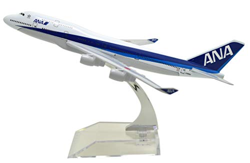 TANG DYNASTY(TM) 1:400 16cm Boeing B747-400 ANA Airlines Metal Airplane Model Plane Toy Plane Model