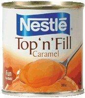 Nestle Caramel Top N Fill 380g.