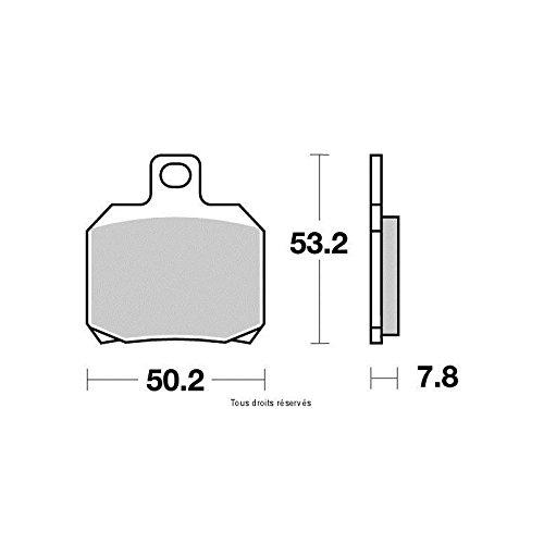 Kyoto - Plaquettes de frein (Avant) DERBI SENDA 50 R DRD PRO 2006-2014