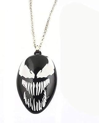 Venom - Llavero, diseño de Spiderman, color negro: Amazon.es ...