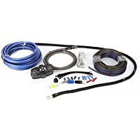 NVX True Spec 4 Gauge 100% Copper Single Amp Wiring Kit with Speaker Cable, No RCA [XAPK4]