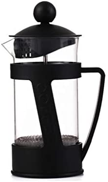 コーヒープレス フレンチプレッシャーコーヒーメーカーPPプラスチックハンドパンチフィルターネットワークティーメーカー、350ml、600ml、800ml (サイズ さいず : 7.5*18cm(350ml))