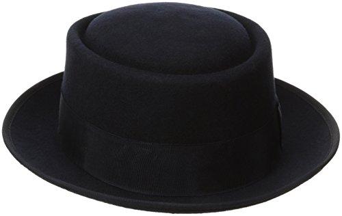Heisenberg Hat (Stacy Adams Men's Wool Rocker Fedora, Navy, X-Large)