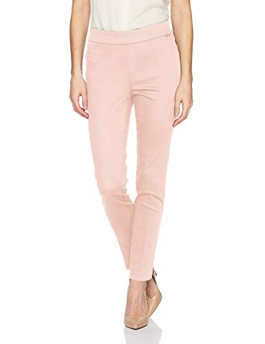 Calvin Klein Capris - Calvin Klein Women's Cropped Pull on Pant, Blush, Large