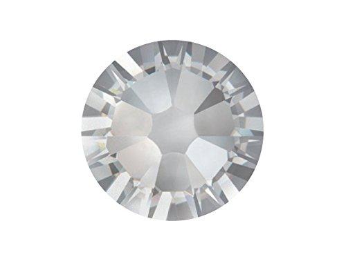 (Swarovski 2088 Xirius Foiled Flatbacks SS40 Crystal Clear 1 gross (144) No Hotfix Rhinestones Factory Pack)