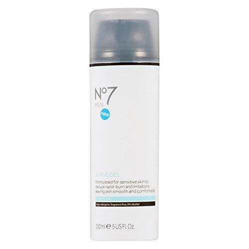 No7 Men Sensitive Shave Gel 5.0 oz