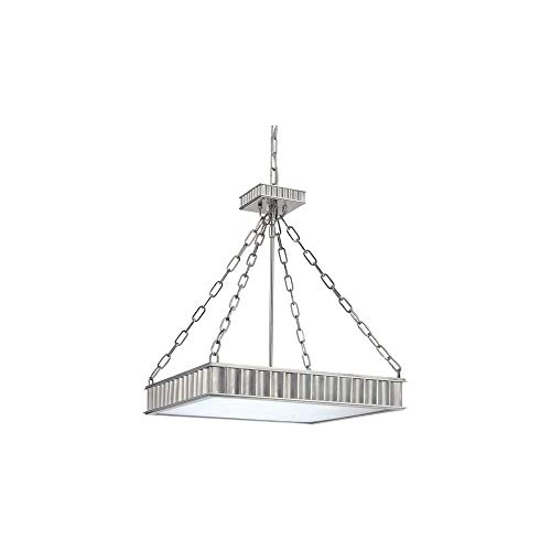 Hudson Valley 935-PN Middlebury Pendant, 5-Light 300 Total Watts, Polished Nickel ()