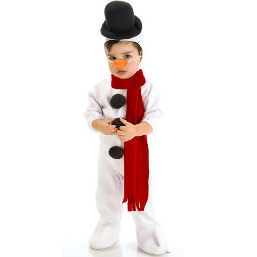 [Lil039; Snowman Costume - Toddler] (Snowman Halloween Costumes)